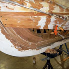 Restoring Shape to an 1899 Elco Antique Wooden Boat