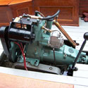 1950s Albin Boat Engine-Single Cylinder