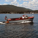 Boat Cruising on Lake George
