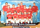 Lake George Youth Commission Baseball Team