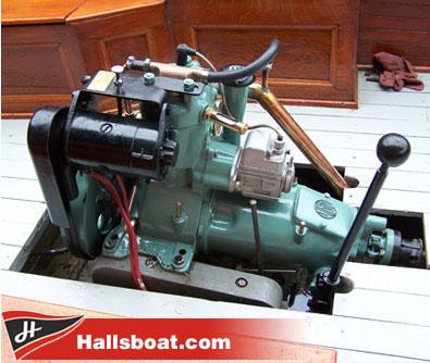 Antique marine engine restoration boat works service for Motors for boats for sale